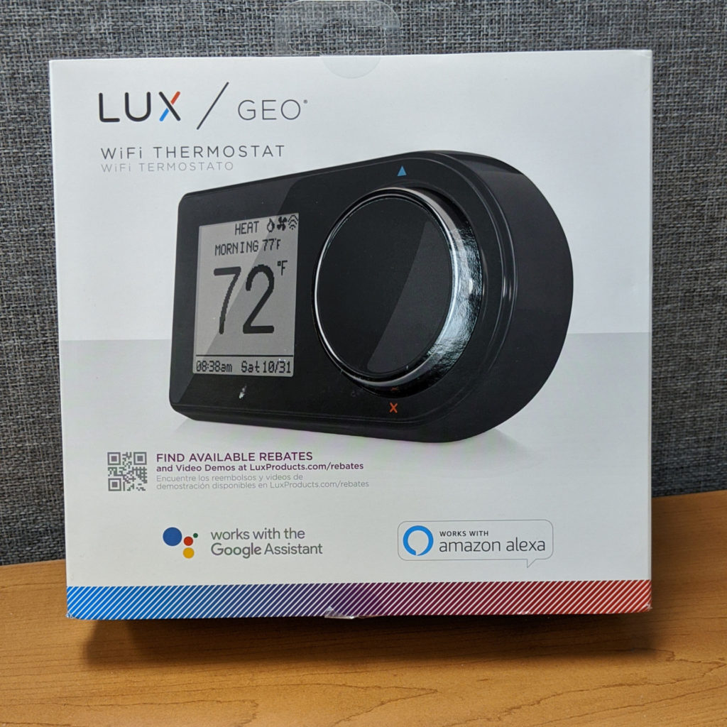 Lux/GEO WiFi Thermostat