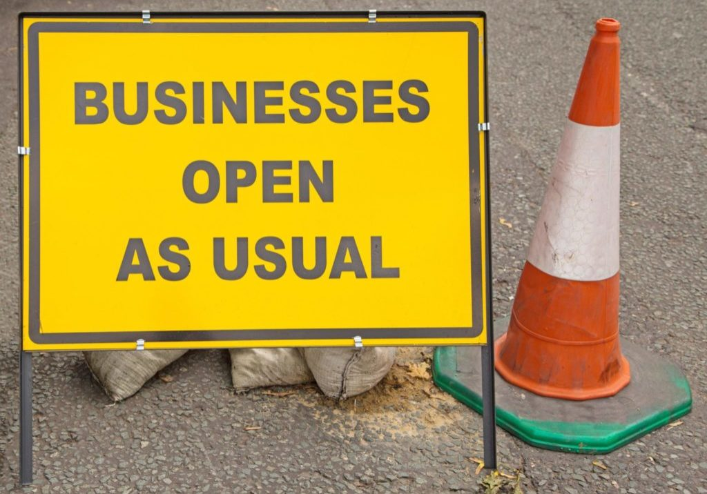 Business As Usual Sign_shutterstock_247211305_small
