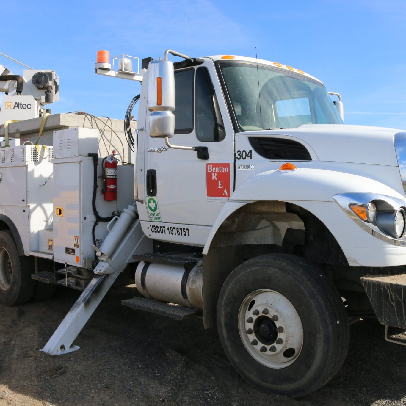 An Electrical Services Truck